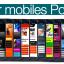 Mobil optimierte Webseite – Vorlagen und Themen