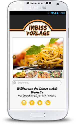 Mobop Imbiss mobile Webseite