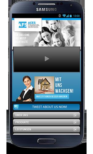 Mobop Finanzdienstleistungen mobile Webseite