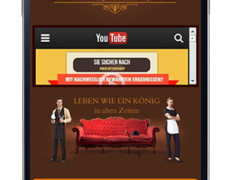 Mobile Webseite für Hotels und Pensionen