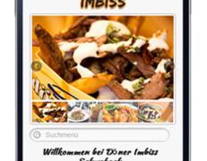 Mobile Webseite für Dönerladen und Imbiss
